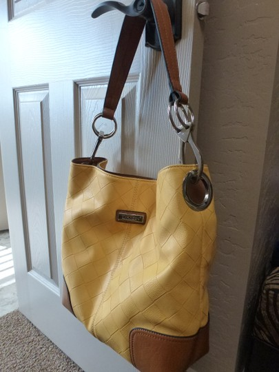 Other Tote in Yellow and tan