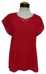 Mardi Modes Top Red