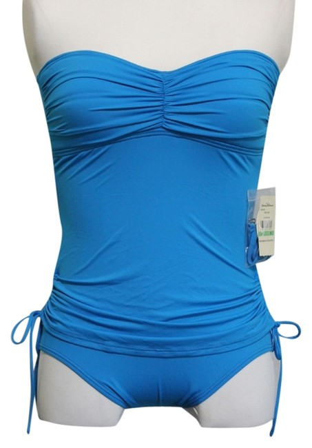 Item - Blue New with Tags One Piece Swimsuit Tankini Size 8 (M)
