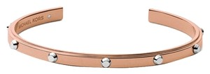 Michael Kors New with no tags MICHAEL KORS Bracelet Cuff Studded Rose Gold Two Tone