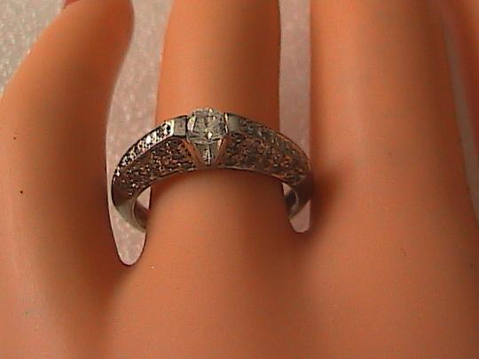 Other Sterling Silver CZ Band Ring