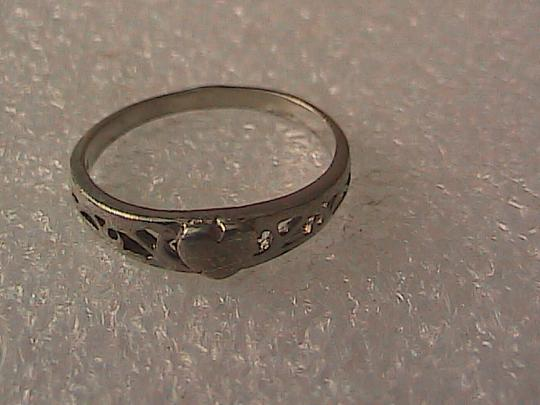 Other Sterling Silver Heart Ring