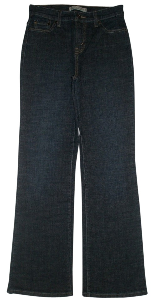 898b54f2039 Levi's Blue Dark Rinse Nwot 512 Perfectly Slimming M Boot Cut Jeans ...
