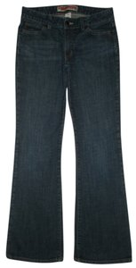 Gap 5 Pocket Style Zip Fly Flare Leg Jeans-Dark Rinse