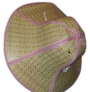 Perfect straw summer hat Folds nearly flat - opens to a full size sun hat - carry with you everywhere travel for sun rain heat beach