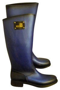 Moschino Blue Boots