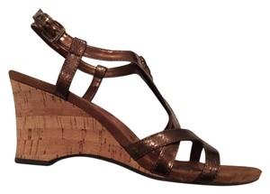 Anne Klein Bronze Wedges