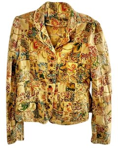 Polo Jeans Co. Patchwork Cotton Floral multi-color Jacket