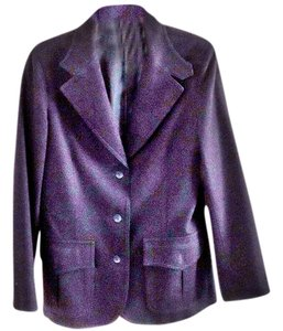 Acting Up Wool navy Blazer