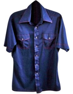 JCPenney Button Down Shirt blue
