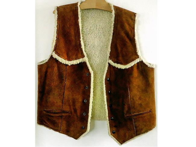 Other Suede Sherpa Vest