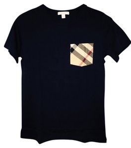 Burberry T Shirt Navy