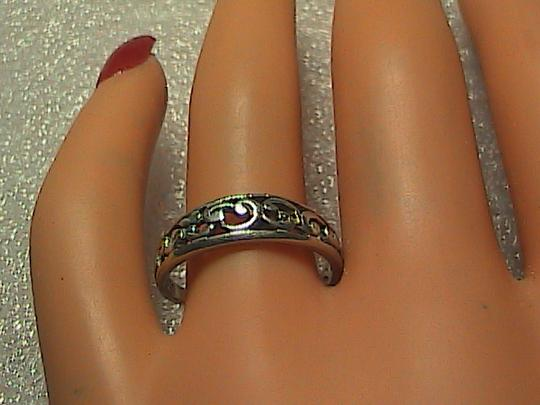 Other Sterling Silver Swirl Band Ring (#6)