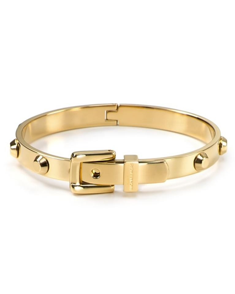 Michael kors gold bracelets 40 off michael kors jewelry for Michael b jewelry death