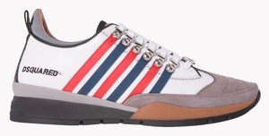 DSquared White/red/blue/grey/black Athletic