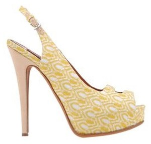 Missoni Brand New Peep Toe Platforms