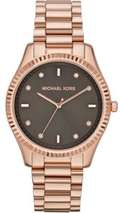 Michael Kors Michael Kors Blake Rose Gold-Tone Stainless Steel Bracelet Watch 42mm MK3227