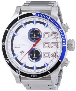 Diesel Diesel Men's Chronograph Double Down 48 Stainless Steel watch dz4313