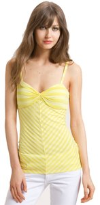 Ella Moss Hello Signature Stripes Sex & The City Bradshaw Top Yellow