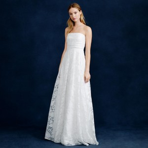 J.Crew Georgiana Burnout Floral Organza Wedding Dress