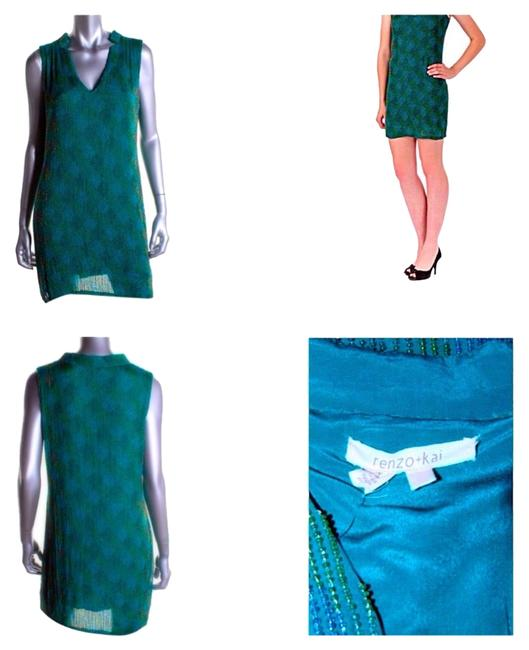 Preload https://item1.tradesy.com/images/renzo-and-kai-green-beaded-silk-sleeveless-party-cocktail-dress-size-4-s-3240880-0-0.jpg?width=400&height=650