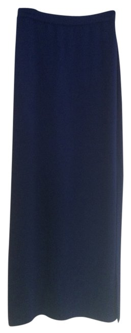St. John St. John's Knit Long Evening Skirt With Sideslit.