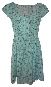 Xhilaration short dress blue on Tradesy