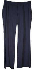 Express Trouser Pants Navy Plaid