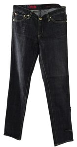 AG Adriano Goldschmied Straight Leg Jeans-Dark Rinse