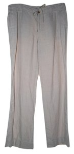 Liz Claiborne Wide Leg Pants Light Taupe