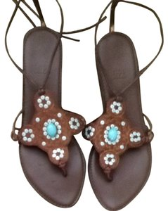 2ac9c665c771 Impo Brown And Blue Sandals