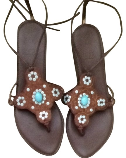 Preload https://item2.tradesy.com/images/impo-brown-and-blue-sandals-size-us-75-regular-m-b-3243106-0-0.jpg?width=440&height=440