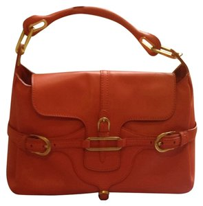 Jimmy Choo Satchel in Coral
