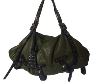 Be&D Satchel in Forrest Green