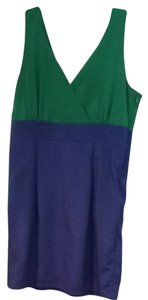 My Story short dress Green And Blue on Tradesy