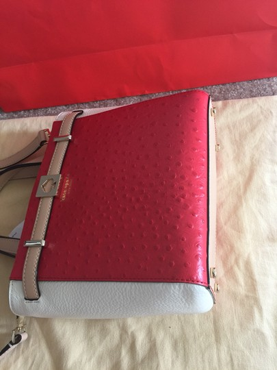 Kate Spade Satchel in RED/ WHITE