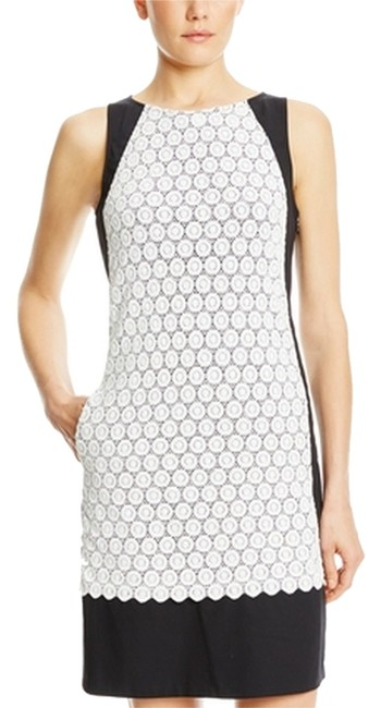 Preload https://item1.tradesy.com/images/adrianna-papell-blackwhite-sleeveless-scallop-lace-above-knee-workoffice-dress-size-6-s-3244255-0-0.jpg?width=400&height=650