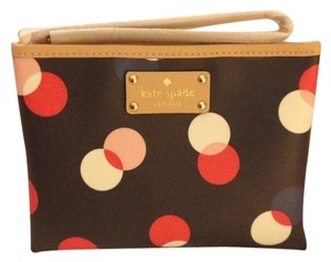 Kate Spade Wristlet in Navy Red White
