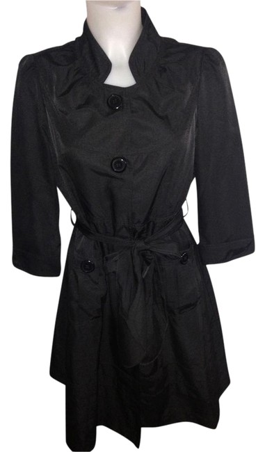 Preload https://item3.tradesy.com/images/romeo-and-juliet-couture-black-trench-coat-size-14-l-3244417-0-1.jpg?width=400&height=650