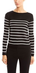 Anne Klein Striped Long Sleeve Pullover Sweater