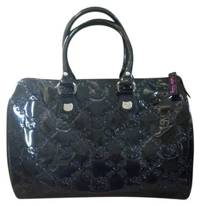 Hello Kitty Satchel in black patent leather