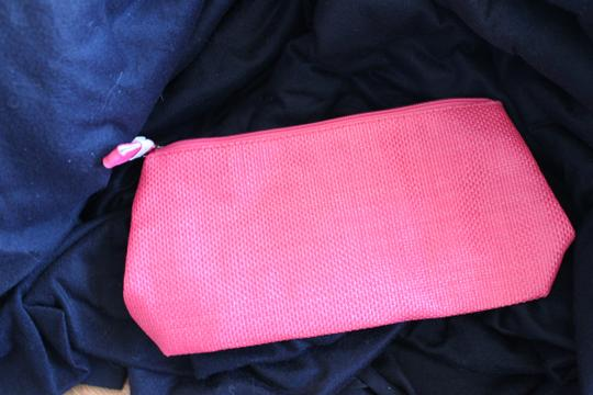 Other Lancome Pink Straw Cosmetic Bag