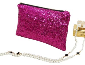 Other Fushia Clutch