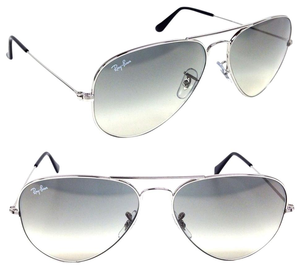 d6b5087be001 Ray-Ban Authentic Ray-Ban Aviator RB3025 003-32 Grey Gradient Lens With ...