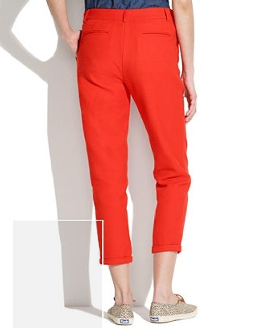 Sessun Androgyny Colorblock Boyfriend Cropped Trouser/Wide Leg Jeans