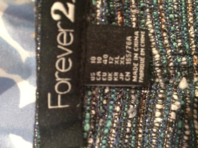 Forever 21 High-waisted Tweed Dress Shorts Multi