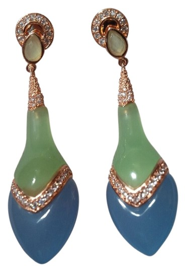Angelique de Paris Angeliqe de Paris Parfum Chalcedony Earrings