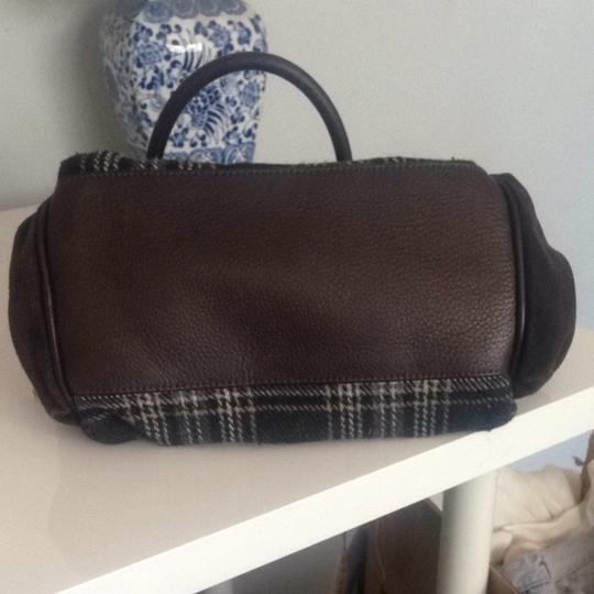 Juicy Couture Satchel in Multicolored Plaid