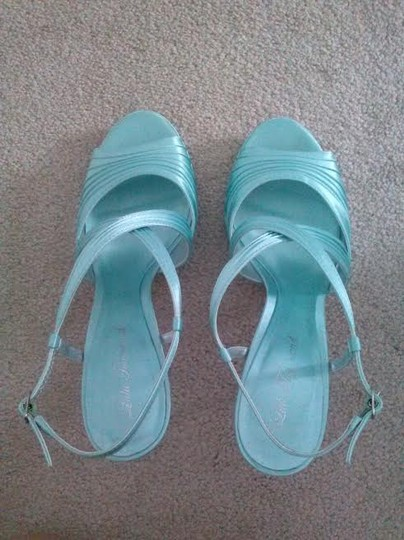 Lula Townsend Light Blue Pumps