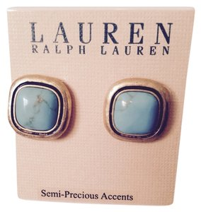 Preload https://item2.tradesy.com/images/lauren-ralph-lauren-turquoisegold-in-brushed-gold-tone-stud-earrings-only-additional-matching-sepera-3245761-0-0.jpg?width=440&height=440